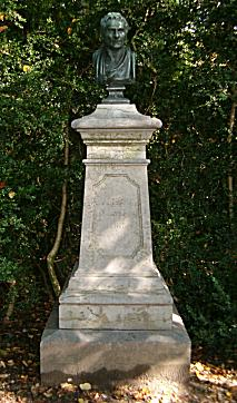 Monument for Jean-Jacques Rousseau, Peter's Island, Biel, Switzerland
